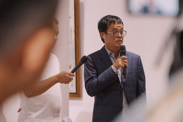 """""""Họa sĩ Đinh Phong là người được nghệ thuật lựa chọn"""""""
