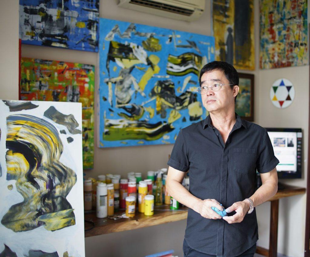 Phong tranh Dinh Phong Art